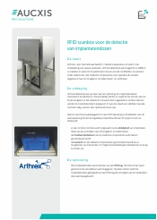 Arthrex RFID Scan Box implantaten - case study