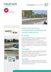 Aucxis RFID SafetyBloc case study