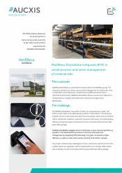 MediReva Revalidatie RFID stock management