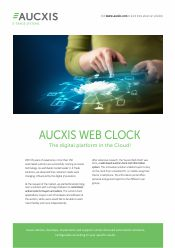 Aucxis Web Clock brochure