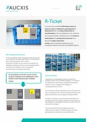 Aucxis RFID R-Ticket brochure